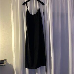 Urban Outfitter Black midi dress